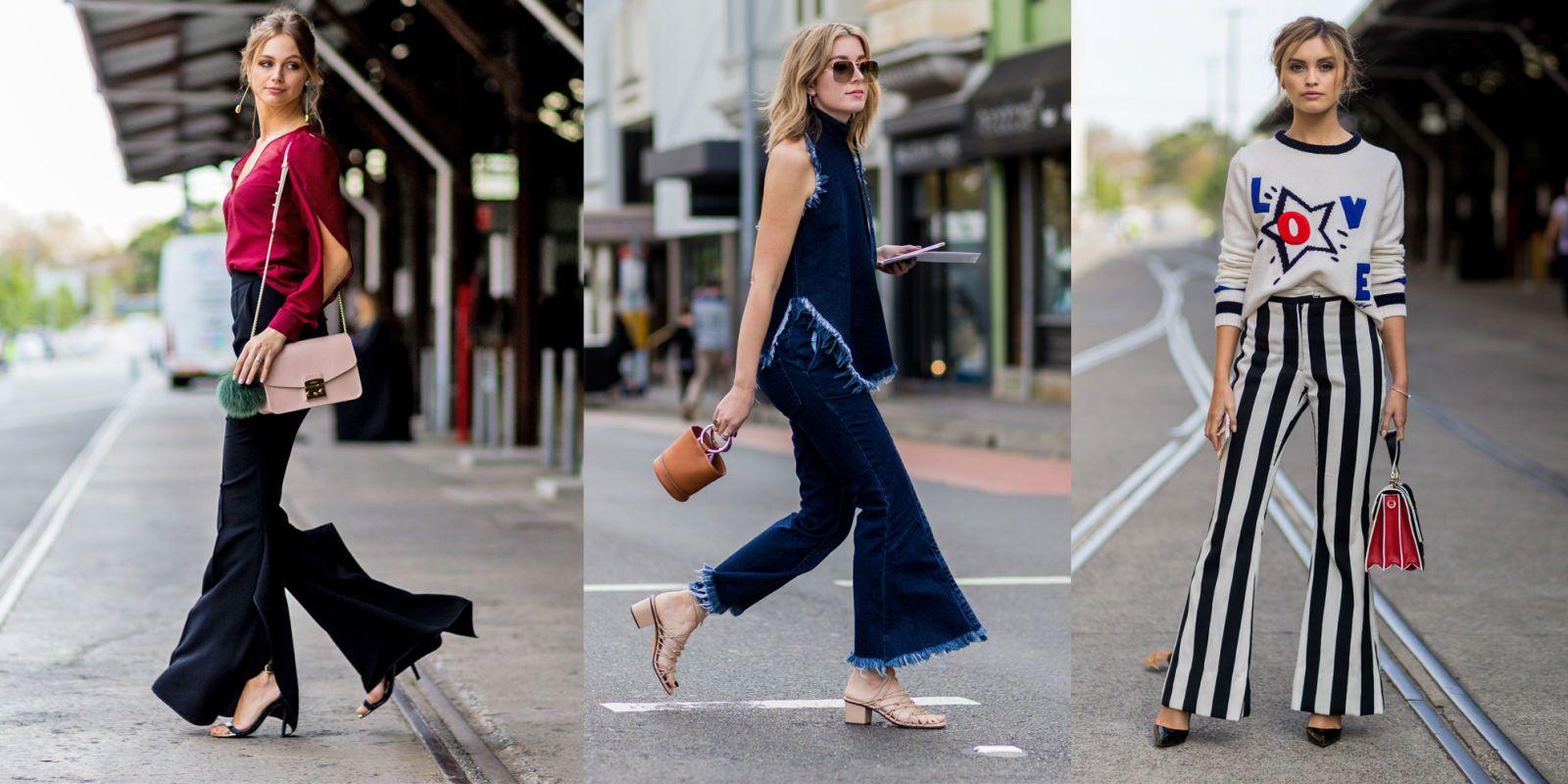 Favorito Pantaloni a zampa: 6 stili glam per la moda estate 2016 EU63