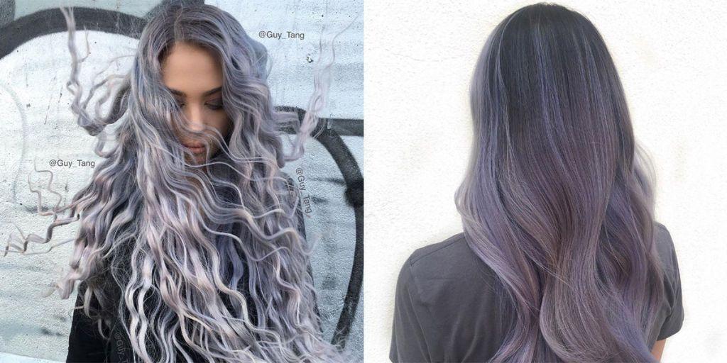 Capelli tinti di grigio