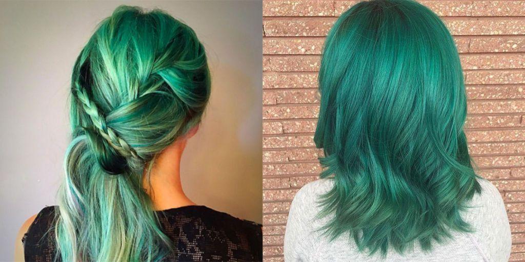 Preferenza Emerald hair: i capelli verdi che luccicando come smeraldi MN83