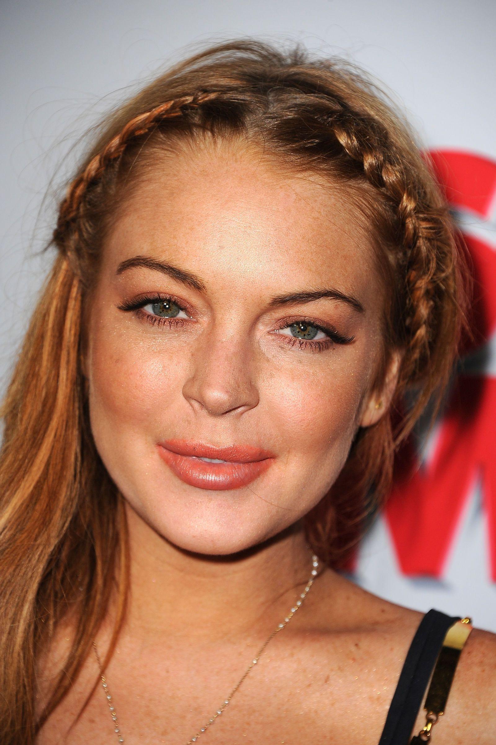 Le due treccine di Lindsay Lohan