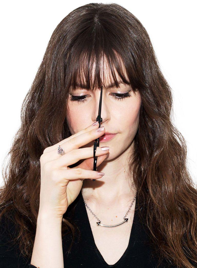 Tagli capelli per far crescere la frangia