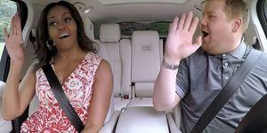 michelle obama beyonce carpooling karaoke