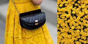 tonalità di giallo alla moda