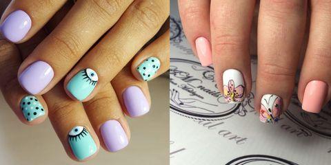 Unghie Corte 10 Idee Di Nail Art