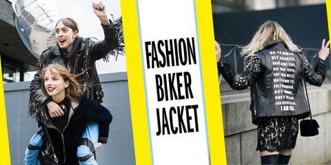 Sleeve, Jacket, Winter, Street fashion, Bag, Blond, Back, Laugh, Advertising, Top,