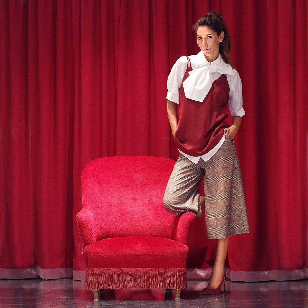 20er anni LADY CAPPELLO DONNA ROSSO 20er 30er anni MOLLE Costume Teatro Show