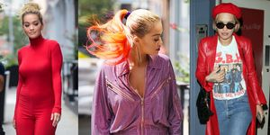 Lo stile di Rita Ora è sexy anche quando è vestita super pop