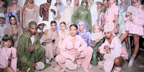 FENTY x PUMA by Rihanna: la collezione sportswear di RiRi diventa couture nei colori pastello