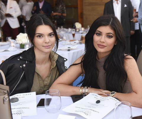2c1cd0c3ab kylie jenner kendall jenner ferrari. Getty Images. Le sorelle ... Kendall  Jenner e ...