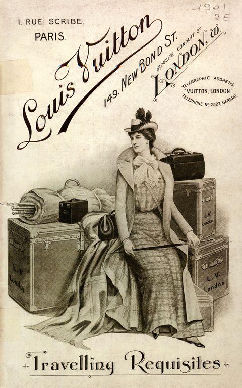 Pubblicità vintage Bauli Louis Vuitton