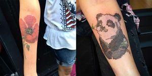 tatuaggi punto croce instagram