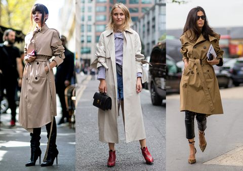 Outfit Ufficio Autunno 2016 : Trench donna: dal nero al beige i colori moda per lautunno 2016