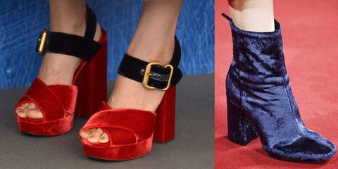 quality design 4debc 17380 Le scarpe donna in velluto dell'inverno 2016 sono sandali e ...