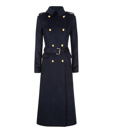 d7c22ab2cdda42 10 pezzi di Michael Kors che non passeranno mai di moda: il cappotto  militare blu
