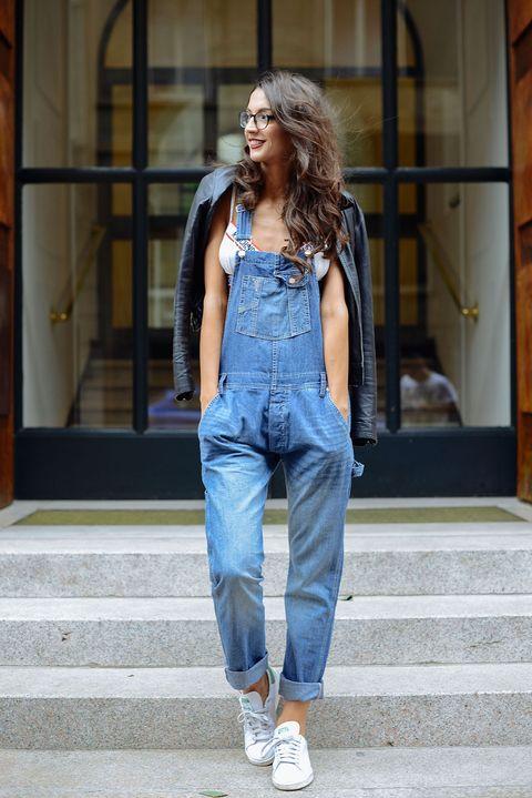 Clothing, Footwear, Blue, Denim, Textile, Jeans, Outerwear, Style, Street fashion, Fashion,
