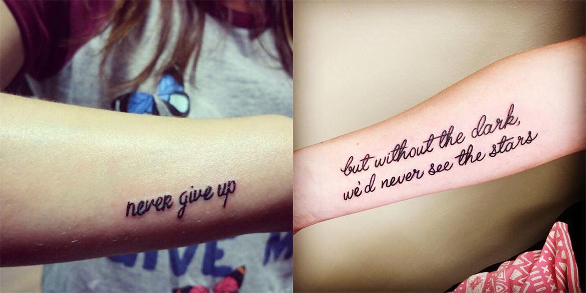 Le 25 Frasi Più Belle Da Tatuare Sulla Vita E Sullamore