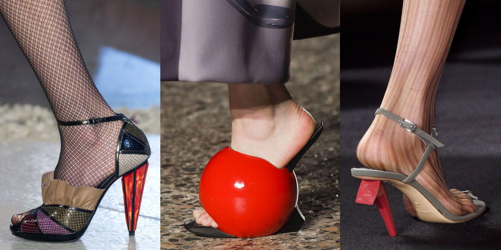 Guarda le scarpe più strane di moda per l\u0027inverno 2017 che solo donne  originali
