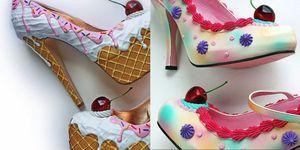 Dolcetto o scherzetto? Sono le scarpe da mangiare quanto sono belle e reali, a forma di gelato, torta e caramelle Pez!