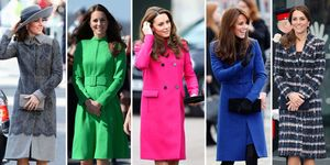 kate middleton cappotti palette