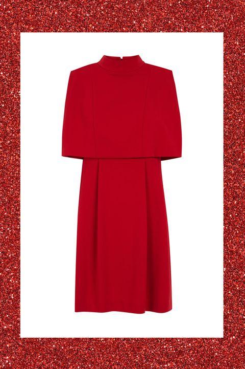 hot sale online a7a9f 61f7b 10 vestiti eleganti corti e rossi per Capodanno 2017