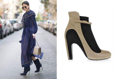 5 abbinamenti per indossare alla grande gli abiti lunghi da giorno: indossa i tronchetti alla caviglia statement