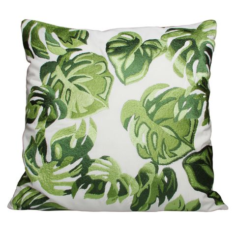 Green, Pattern, Cushion, Leaf, Pillow, Throw pillow, Teal, Linens, Camouflage, Turquoise,