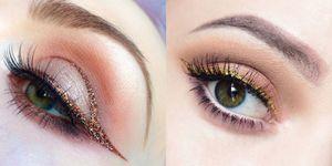 glitter eyeliner instagram