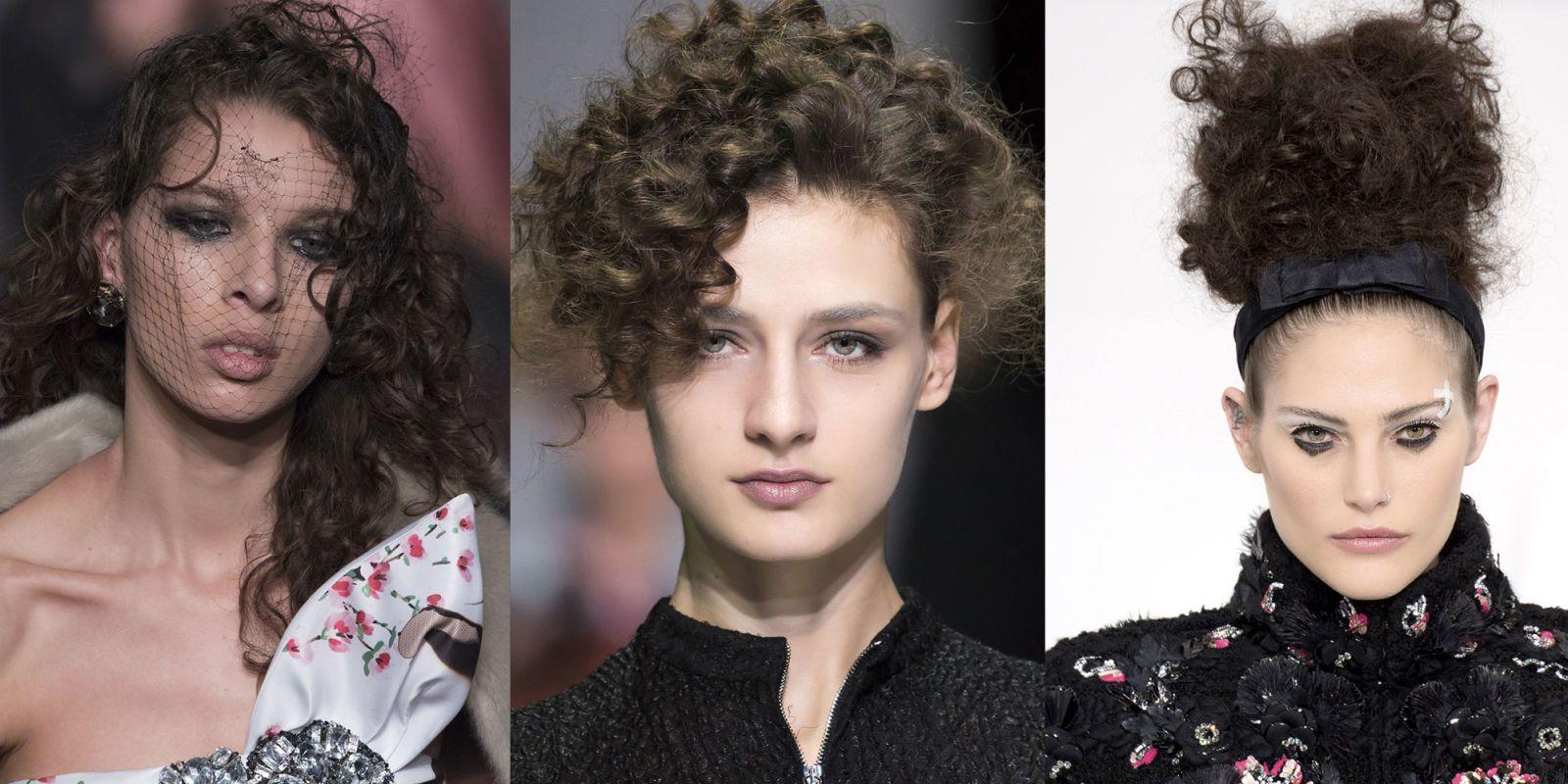 Taglio moda capelli ricci
