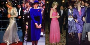 lady diana look
