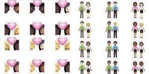 love moji emoji coppie