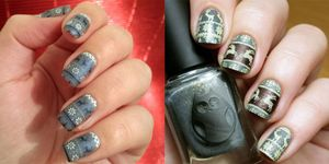 ugly sweater nail art instagram maglioni natale