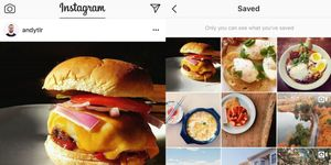 instagram salvare save tab