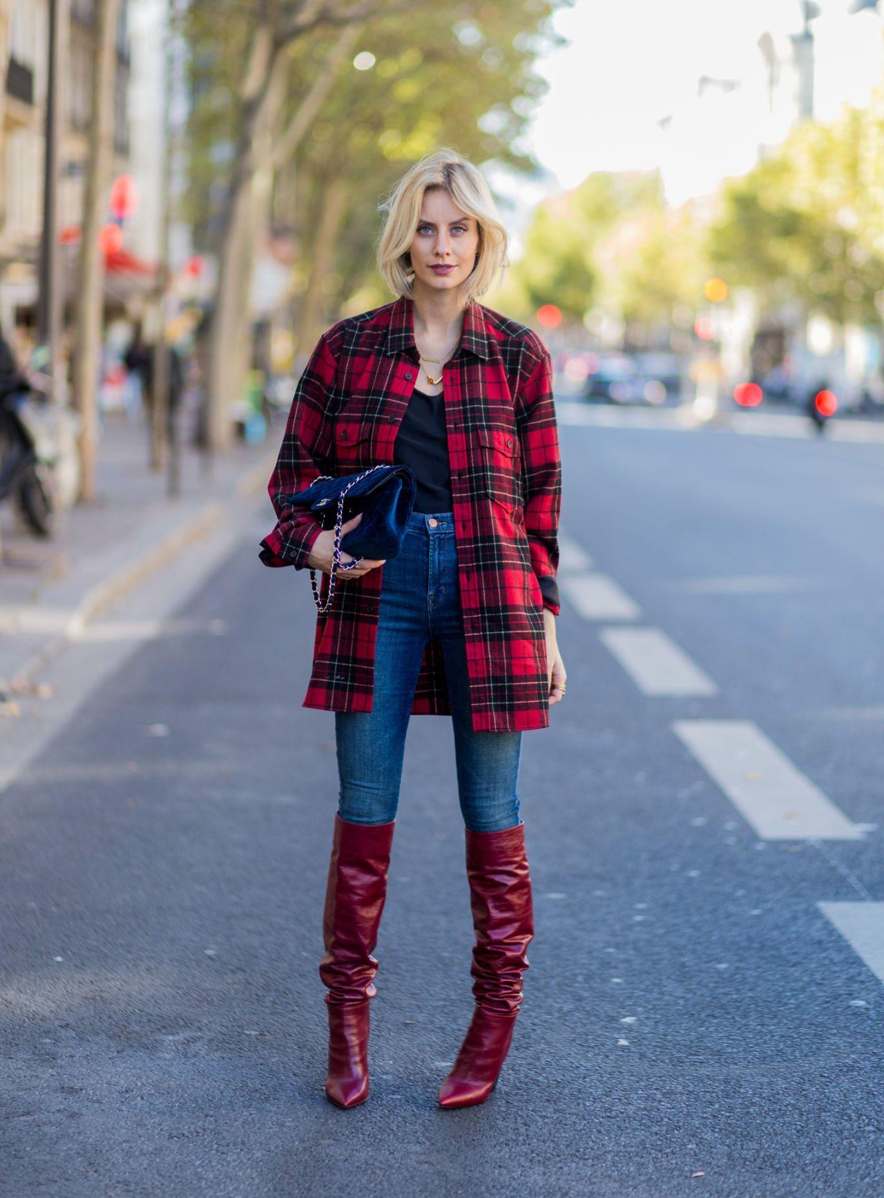 Indossarla Quadri Nera4 Per Modi A Rossa Camicia Glam E 8w0PNOXnk