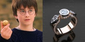 harry potter anelli fidanzamento