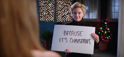 Blond, Handwriting, Holiday, Christmas, Christmas decoration,