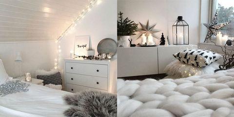 La tendenza lucine trasforma la tua camera in un posto da sogno