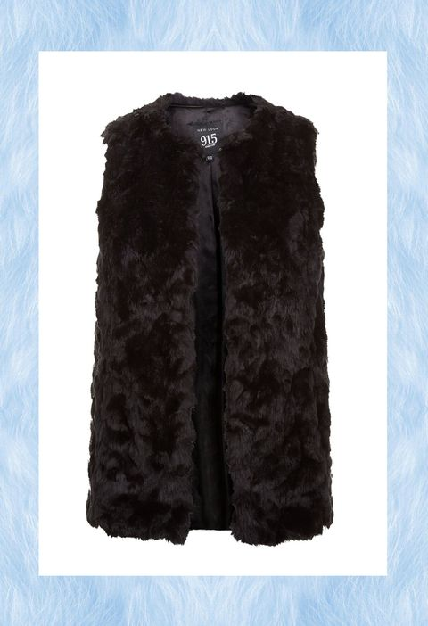 newest 22a20 08415 15 gilet di pelliccia ecologica moda inverno 2017