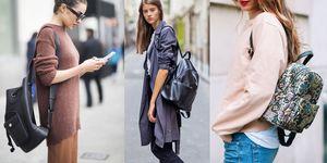 Lo zaino in pelle alla moda può diventare chic e prezioso come una clutch, è tutta una questione di...pelle