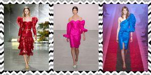 Guarda i vestiti anni 80 e l'abbigliamento moda e di tendenza per la primavera estate 2017.