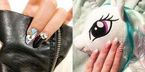 unicornnails nail art unicorno instagram
