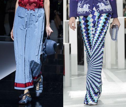 Guarda come abbinare i pantaloni a palazzo secondo le ultime tendenze moda primavera estate 017 per essere chic.