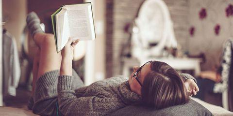 Eyewear, Vision care, Comfort, Wrist, Reading, Publication, Nap, Sleep, Book, Linens,
