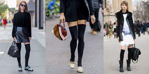 Scopri come indossare le parigine, le calze sexy per i tuoi look da giorno e da sera con un occhio alla moda primavera 2017.