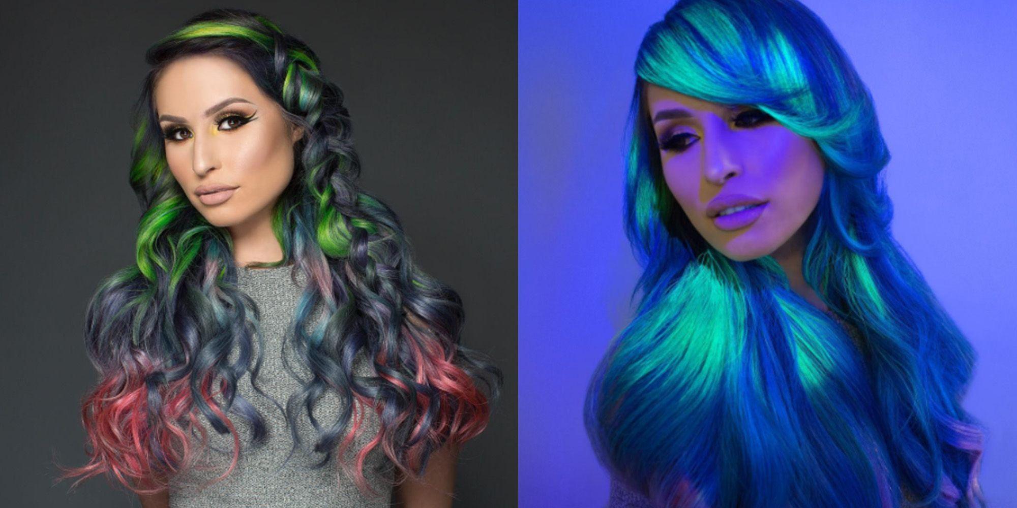 LiteBritehair  il nuovo trend dei capelli colorati in versione rainbow e  fluo a643da7ff7a2