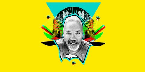 Colorfulness, Forehead, Graphics, Facial hair, Illustration, Graphic design, Painting, Drawing,