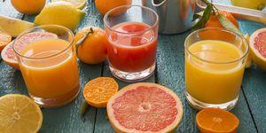spremuta d'arancia calorie benefici