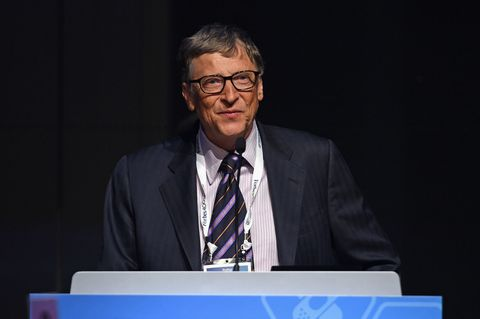 NEW YORK, NY - JUNE 03:  Bill Gates speaks during the Forbes' 2015 Philanthropy Summit Awards Dinner on June 3, 2015 in New York City.  (Photo by Dimitrios Kambouris/Getty Images)