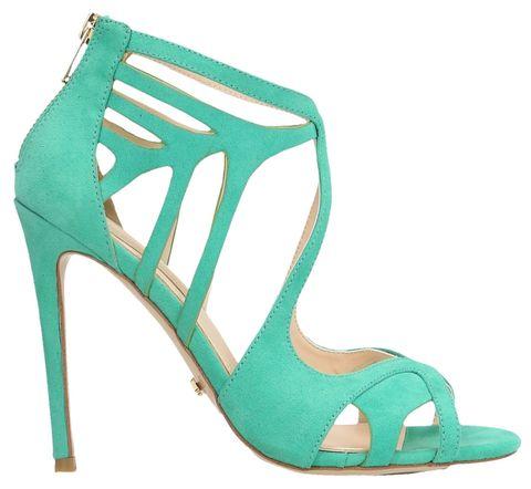 High heels, Green, Sandal, Teal, Turquoise, Aqua, Basic pump, Foot, Azure, Beige,
