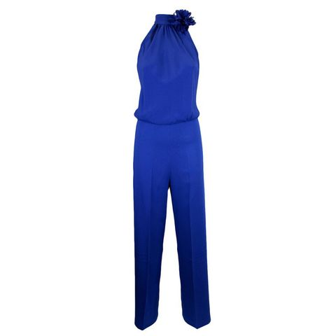Textile, Electric blue, Azure, Cobalt blue, Active pants, sweatpant, Workwear, Costume, Pocket, Overall,
