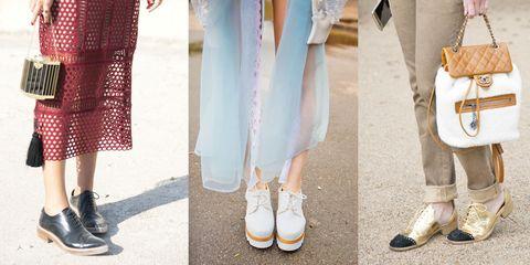 special sales utterly stylish delicate colors Francesine basse: gli abbinamenti moda primavera estate 2017